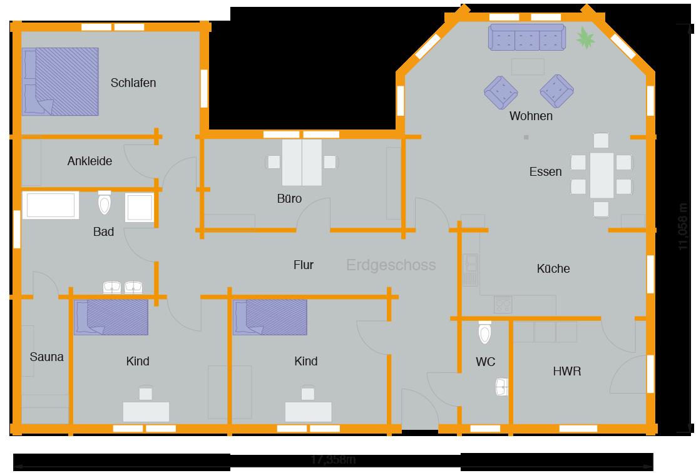 Blockhaus Gobel Nordic Haus Wohnen Pinterest