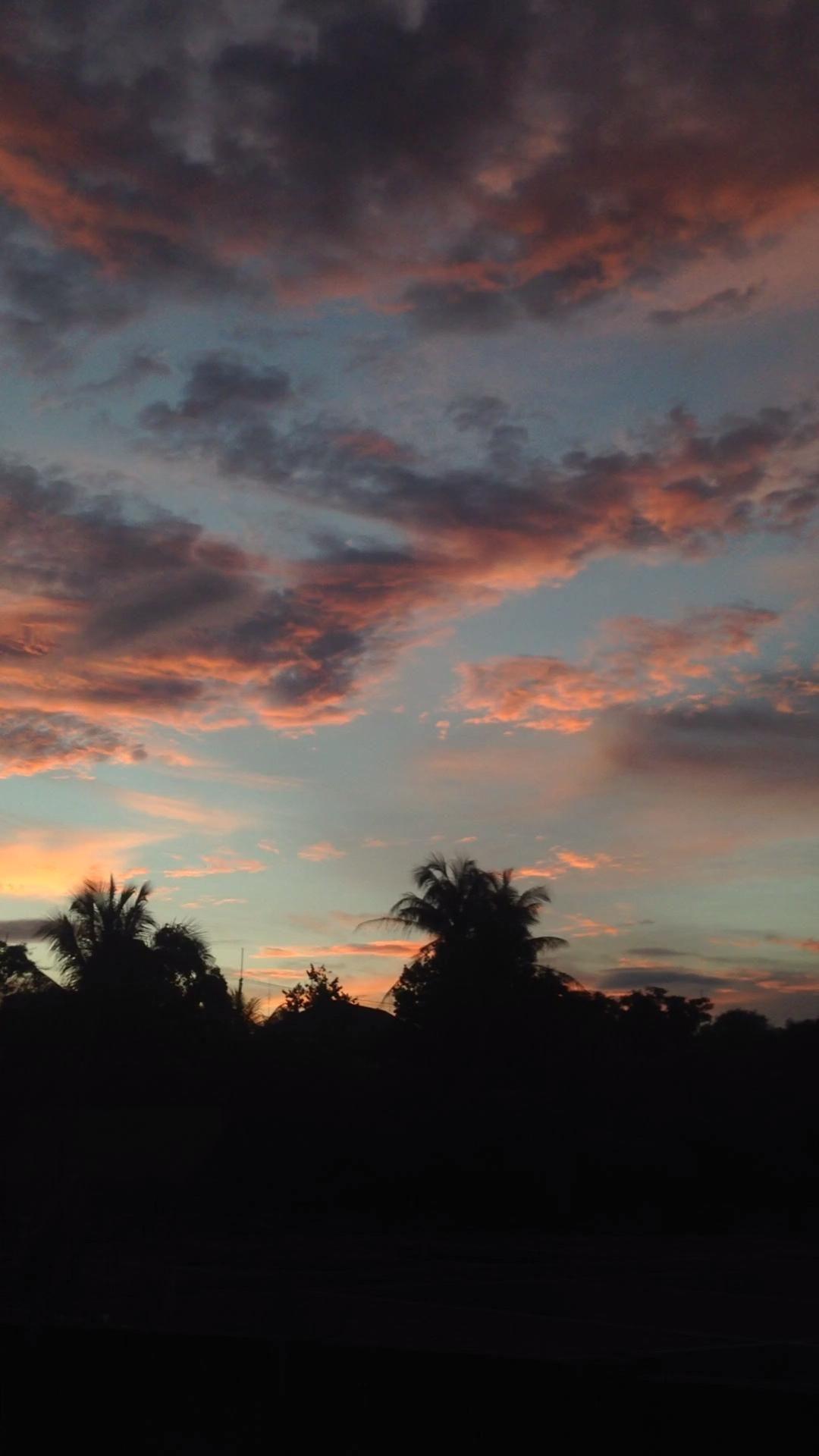 Video Awan Yang Indah Pemandangan Fotografi Alam Estetika Langit