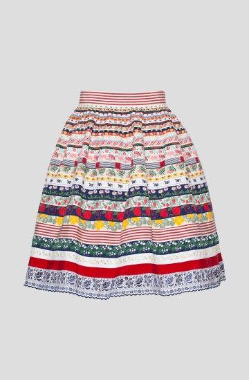 Tutti Frutti Skirt Summergarden - Lena Hoschek Online Shop