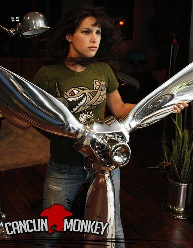 82 Mirror Polished Airplane Propeller Art Display I Think It Would Make A Striking Ceiling Fan Airplane Propeller Propeller Art Vintage Planes