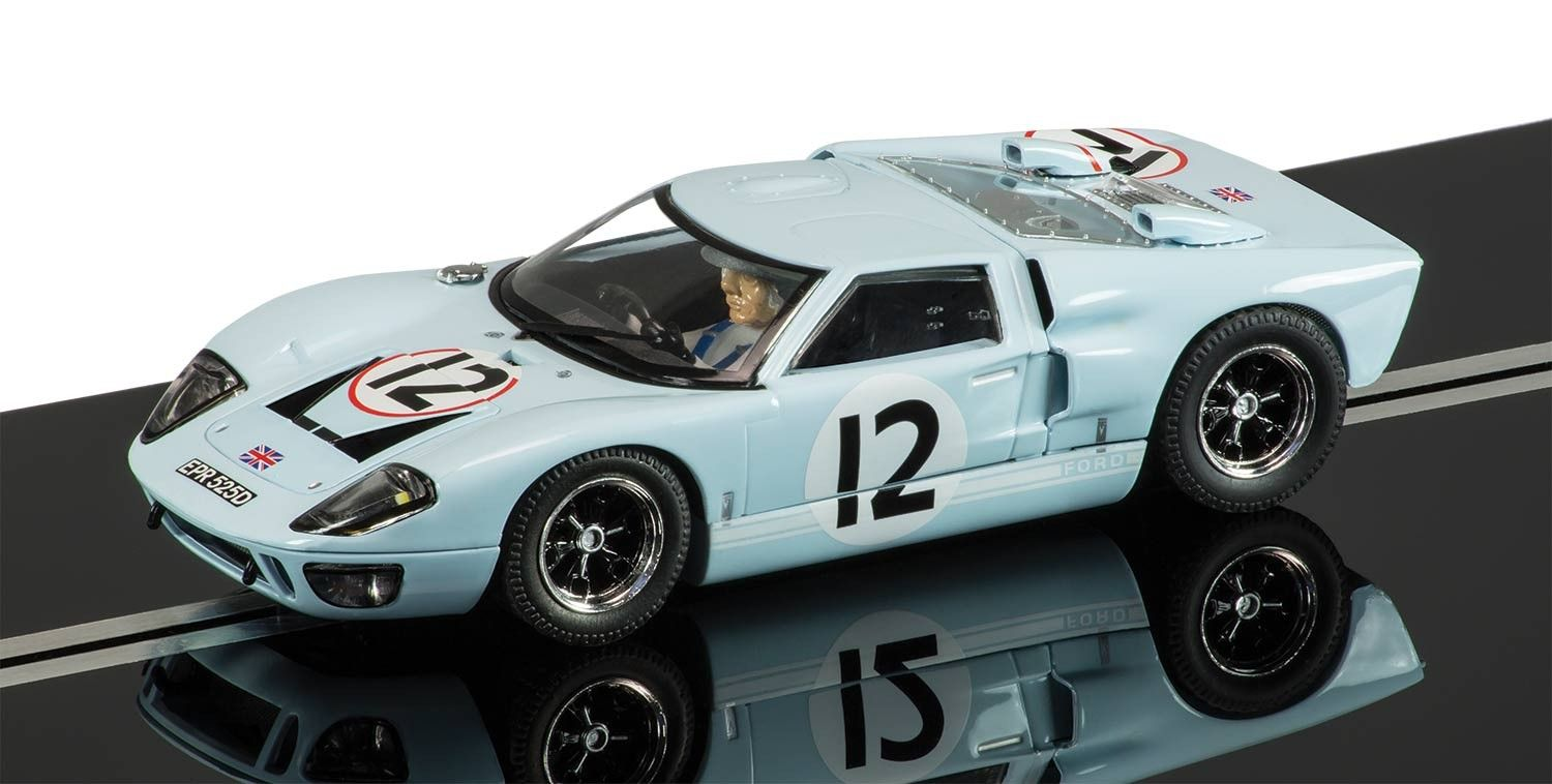 Scalextric C Ford Gt Le Mans  J Rindt I Ireland