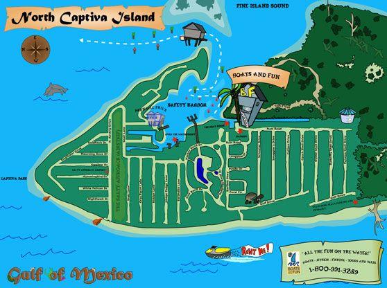 North Captiva Island Map Beach House Vacay 2016 Pinterest