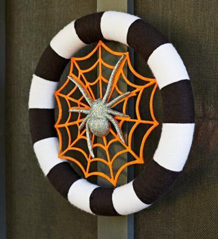 30 Halloween Decorating Ideas Craft stores, Wreaths and Halloween - fun halloween decorating ideas