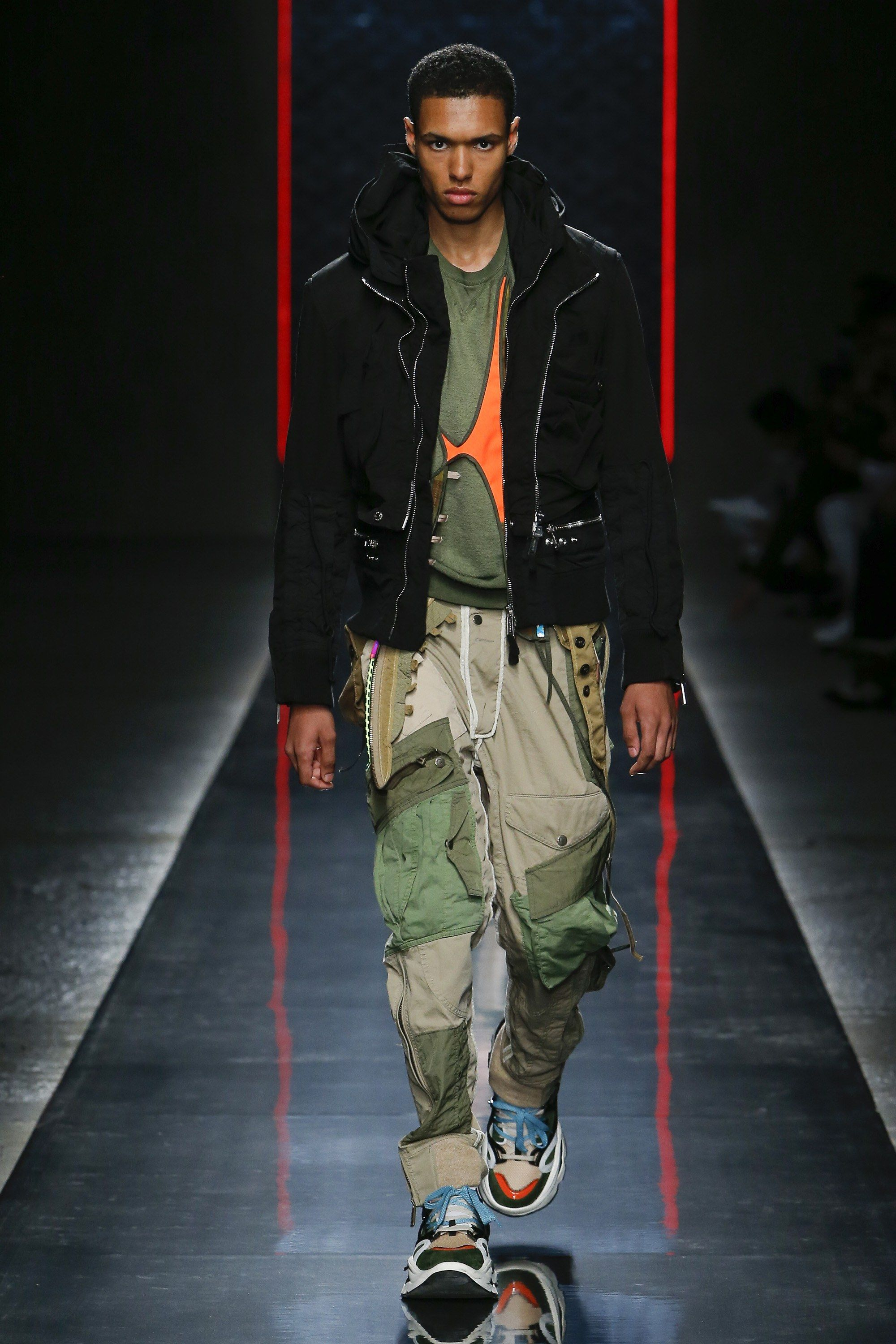 Dsquared2 Spring 2019 Menswear Fashion Show In 2019 Menswear