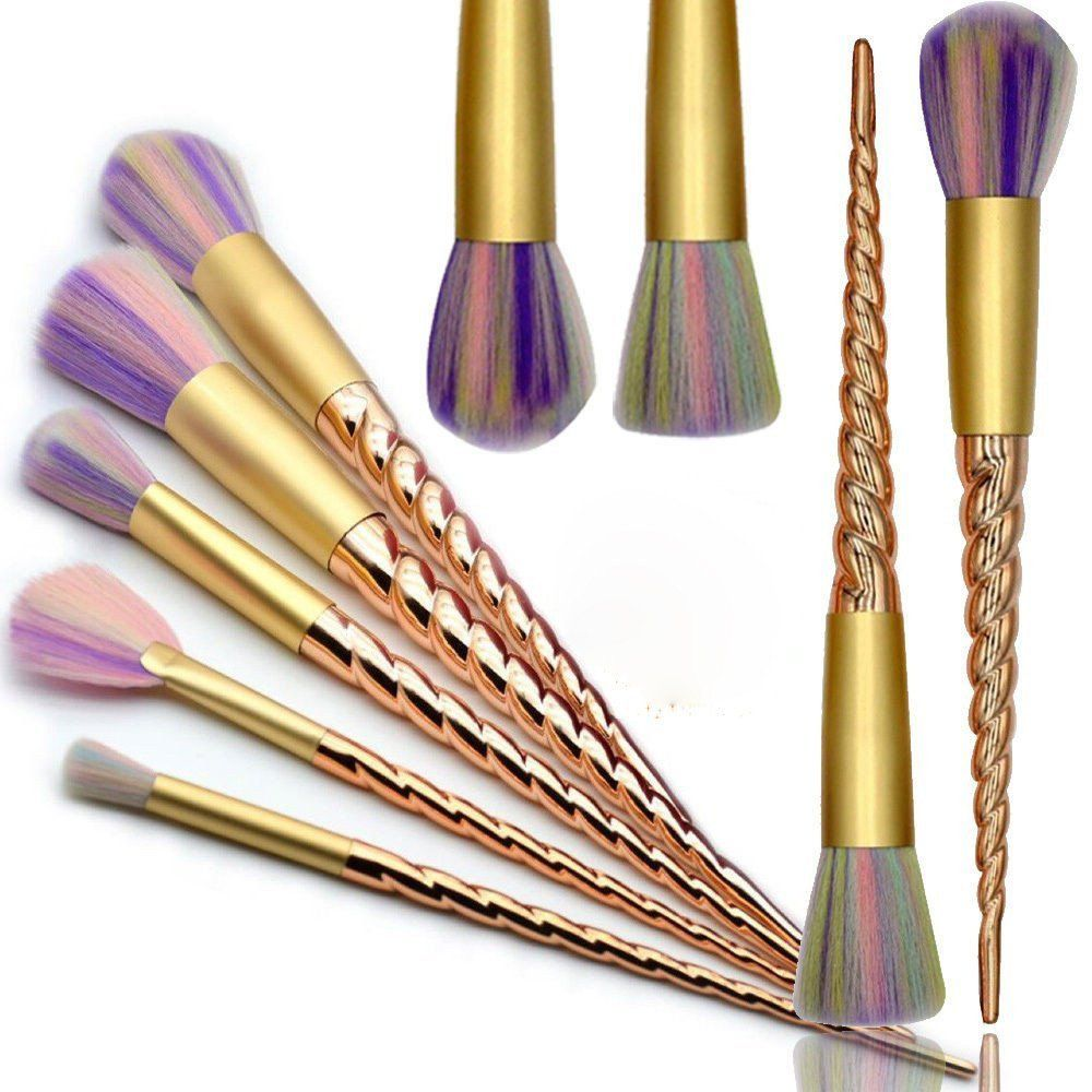 10 Piece Magical Unicorn Makeup Brush Set Unicorn makeup
