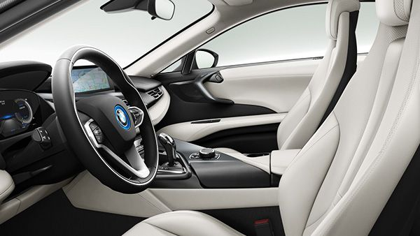 Interior Shot Of The 2015 BMW I8