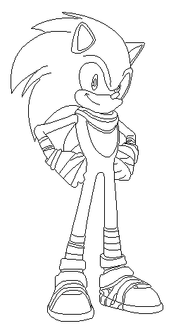 Boom Coloring Pages Sonic 2020 Sonic Boom Sonic Coloring Pages