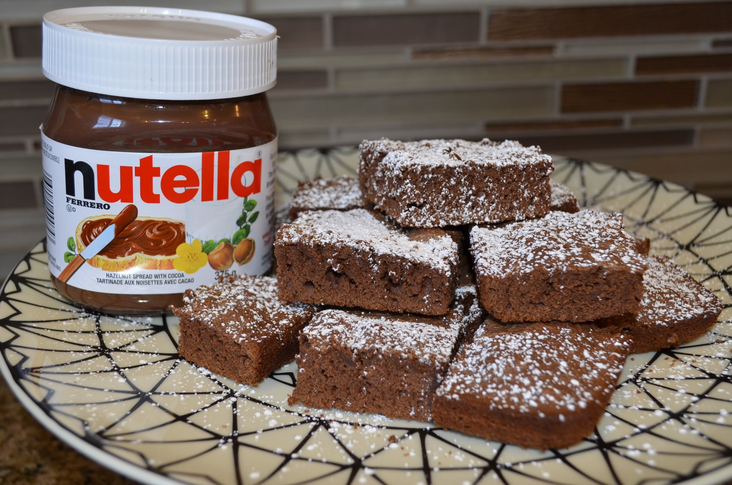 Brownies De Nutella Con 3 Ingredientes Nutella 3 Ingredientes Brownies