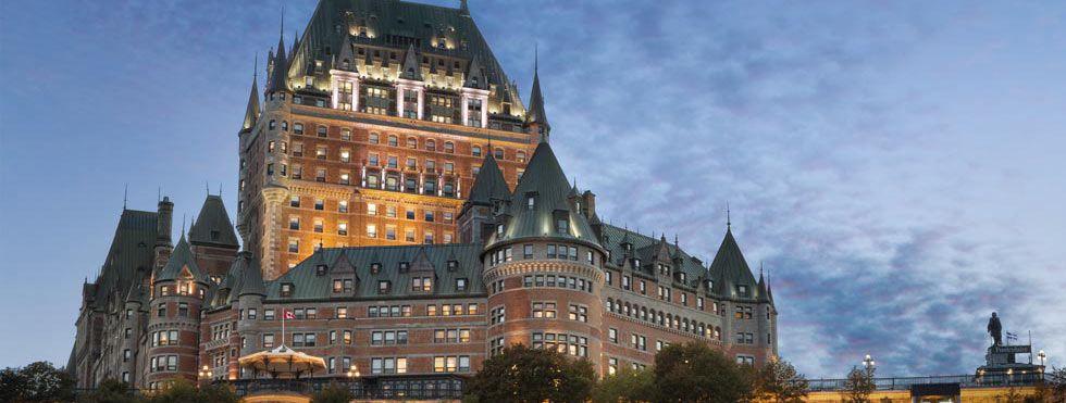 Fairmont Le Chateau Frontenac Montreal Quebec Quebec City Frontenac International Hotels