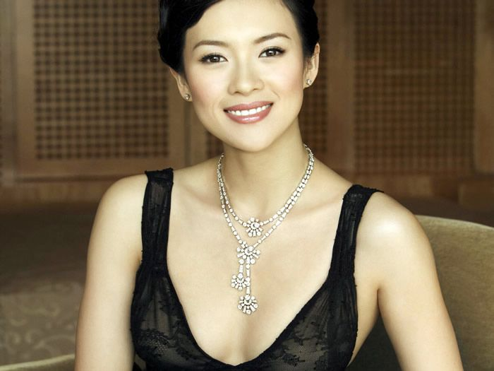 Zhang Ziyi was the belle of the ball at Le Grand Bal de la