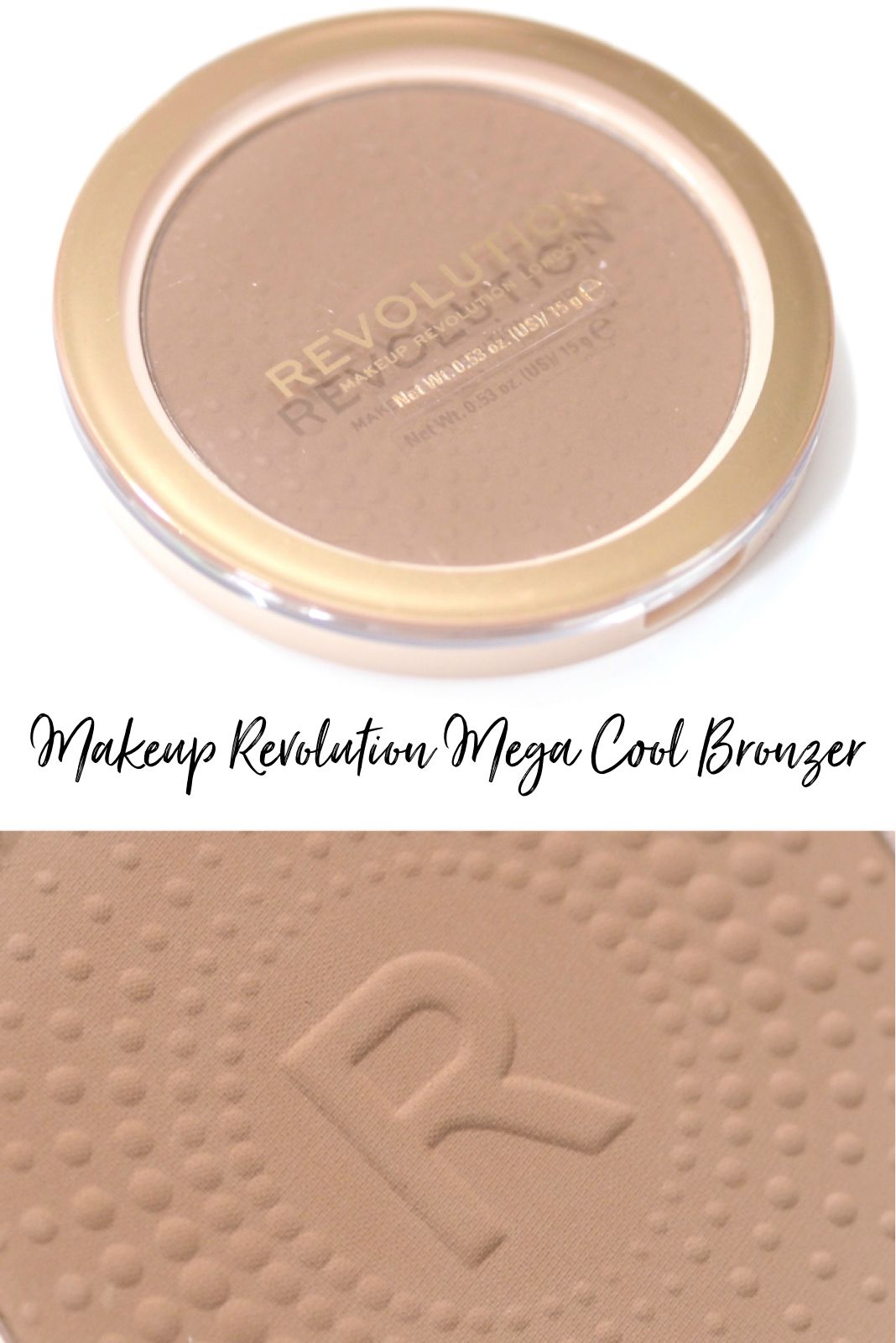 Revolution Mega Bronzer Review and Swatches in shade Cool