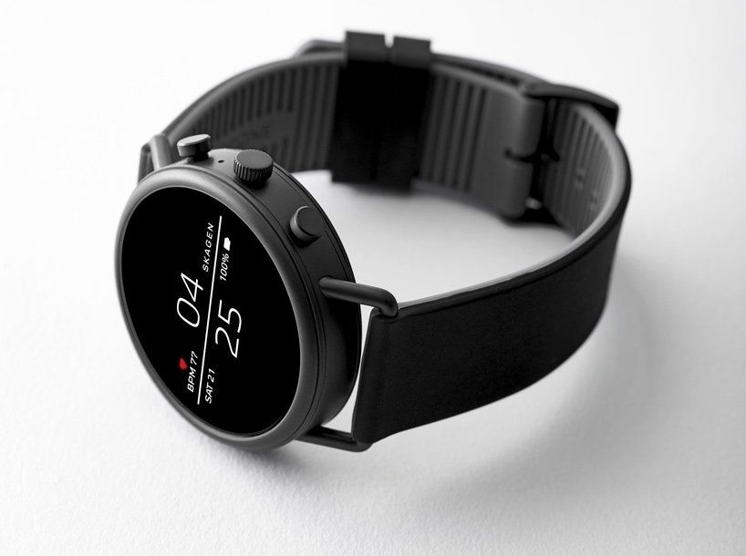 new skagen falster smartwatch minimizes style and maximizes technology