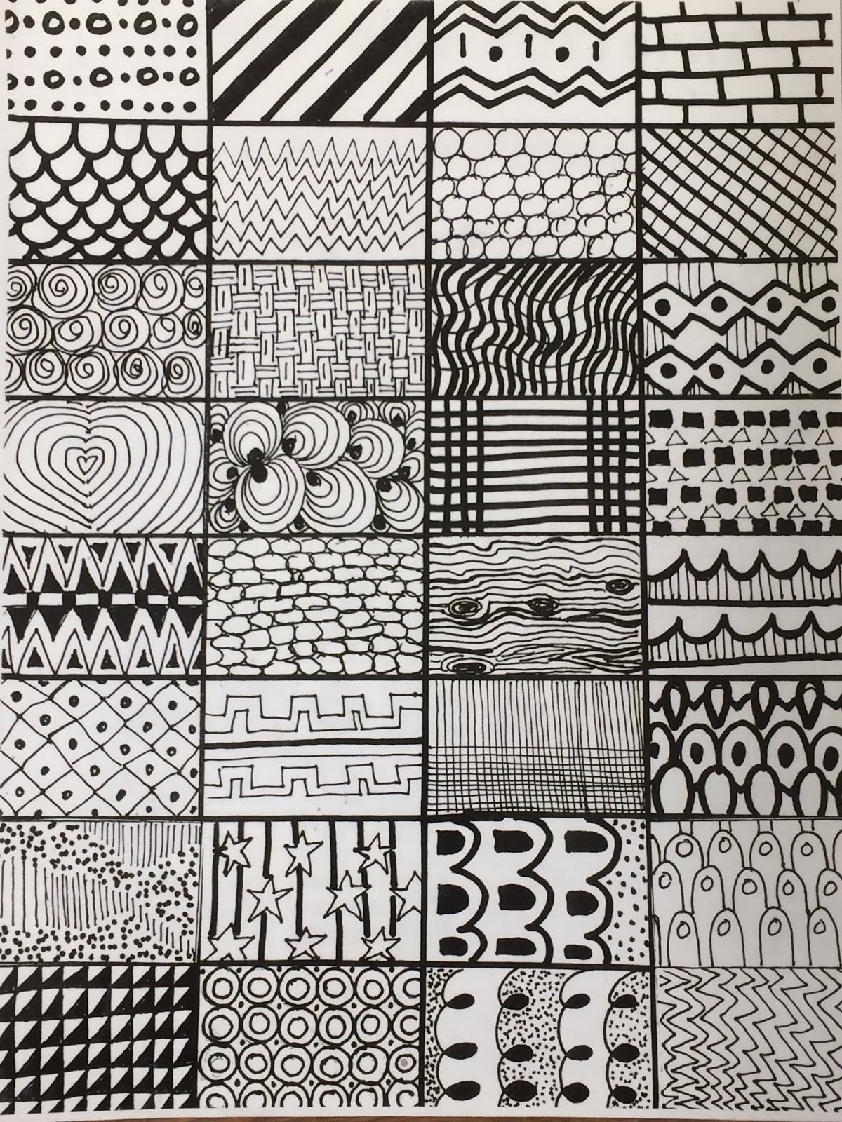 Lines And Doodles Art Lessons Elementary Art School Art Projects