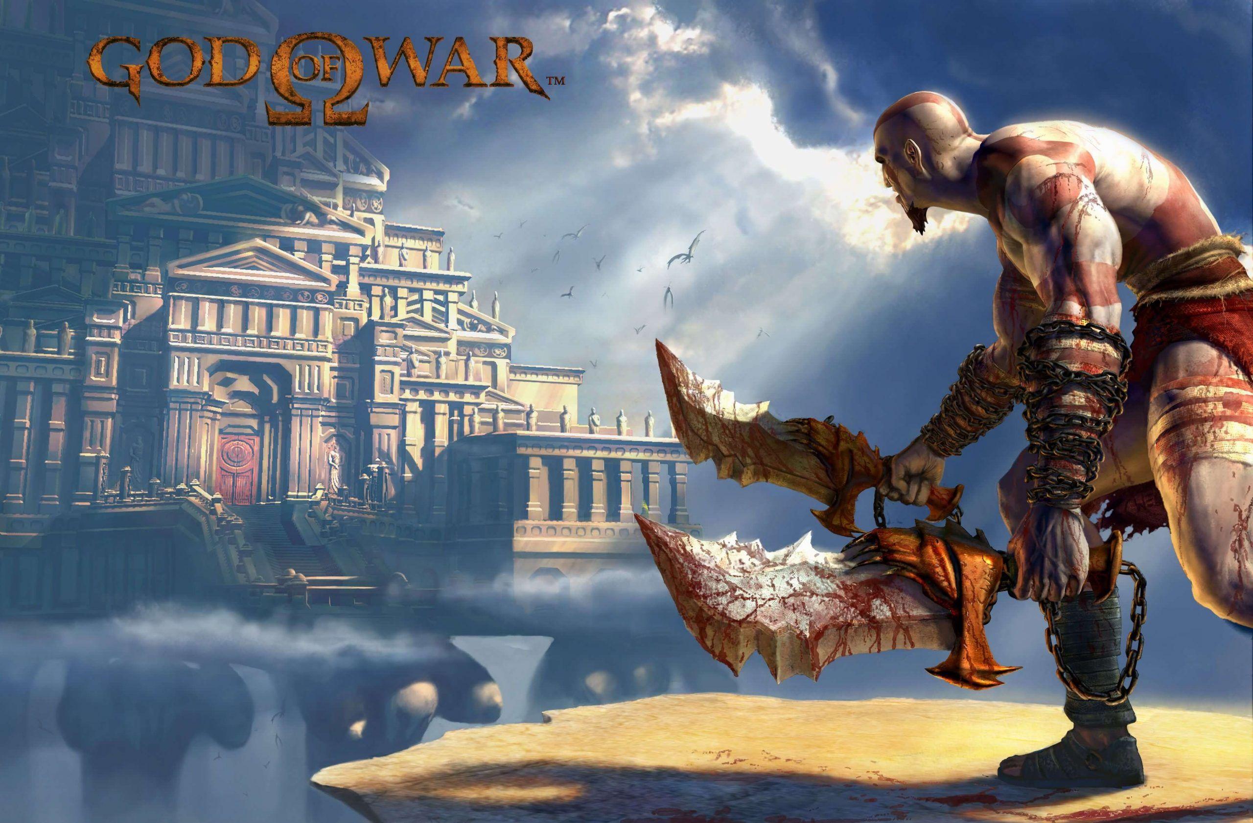 Ristechy Kratos God Of War God Of War Game Download Free