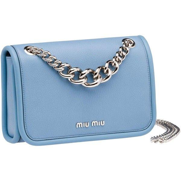 92e7dd5f7cd0 Miu Miu SHOULDER BAG ❤ liked on Polyvore featuring bags