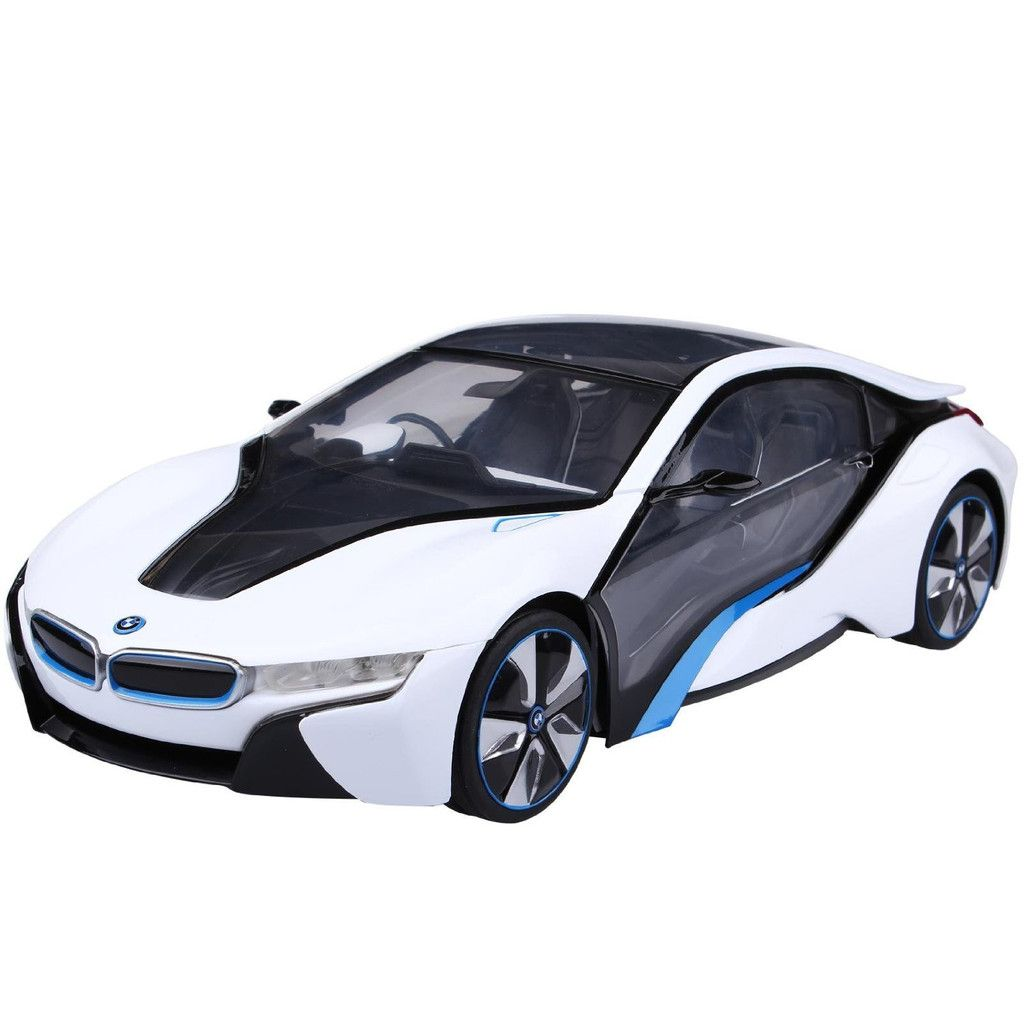 White New York BMW I8 1:14 Scale Remote Controlled Car