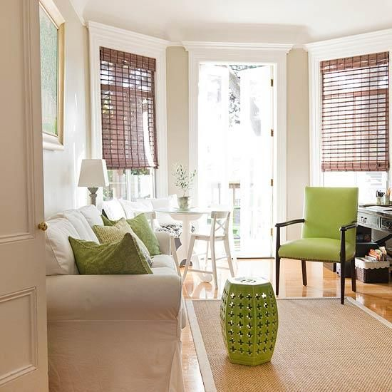 2013 Neutral Living Room Decorating Ideas From Bhg: Green Living Room Decorating Ideas