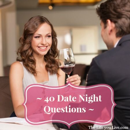 Date Night Questions for Married Couples Have you ever scheduled a night  out (or date