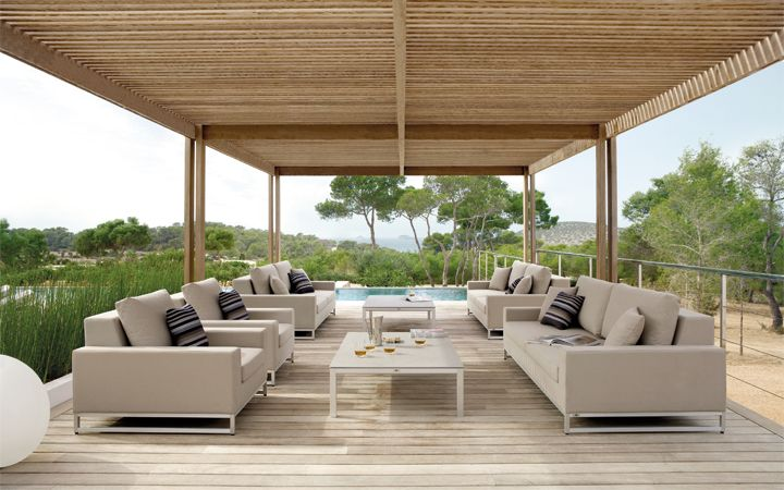 Manutti outdoor furnitures at Maison Objet Americas