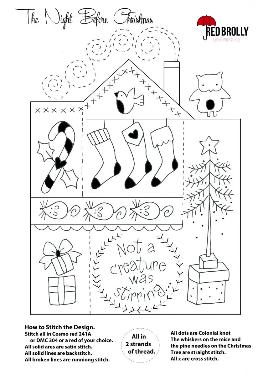 Here\'s some Christmas Samplers to stitch in time for Christmas ...
