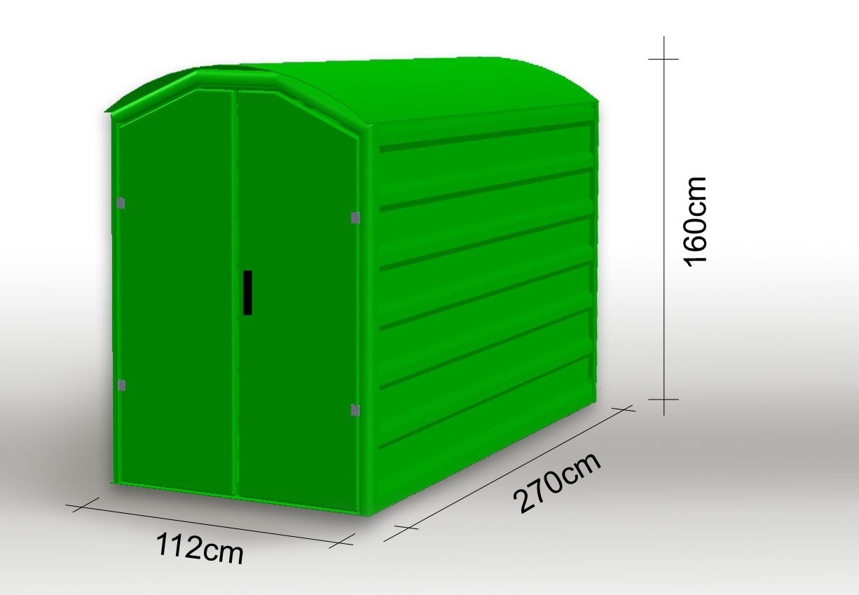 Moto-Box Standard « moto-box.pl | Abstellbox | Locker ...