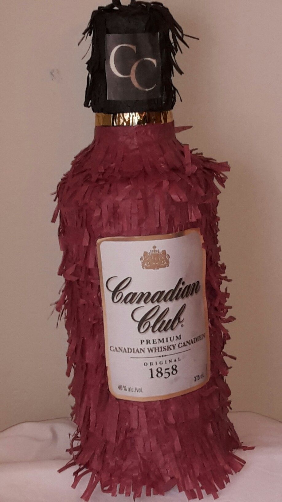 Canadian Club Whiskey Pinata To Order Go To Www Etsy Com Shop Lovablepinatas Canadian Club Whiskey Perfume Bottles Pinata
