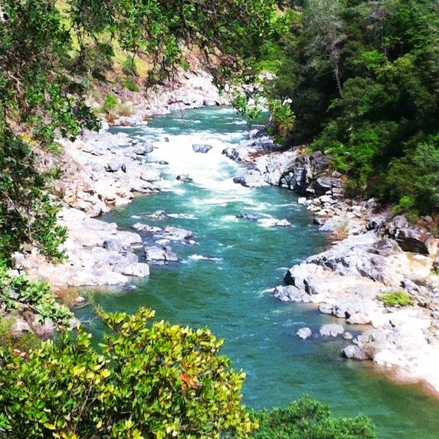 Yuba River As Seen From Buttermilk Trail In Penn Valley Ca