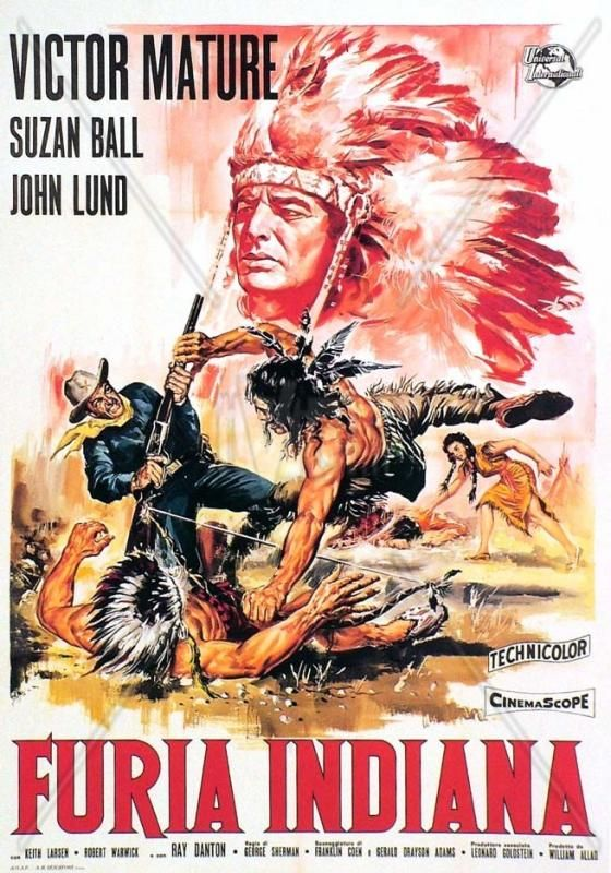 Le Grand Chef Chief Crazy Horse 1955 George Sherman Victor