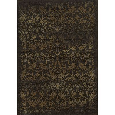 """The Conestoga Trading Co. Brown Area Rug Rug Size: 3'3"""" x 5'3"""""""