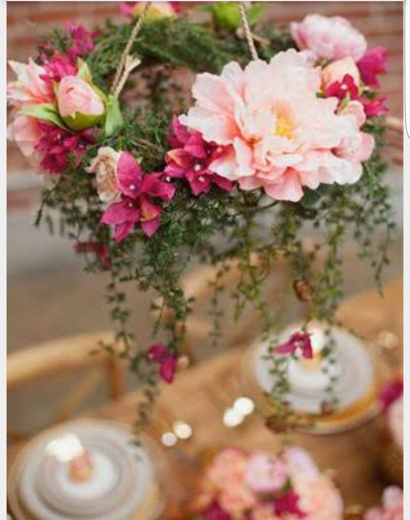 Hanging Flowers Romantic Bride Pinterest Hanging Flowers