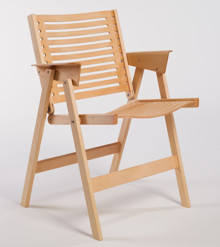 lb animación creativo  Niko Kralj - 'Rex' Folding Wooden Chair | Chair, Furniture, Furniture design