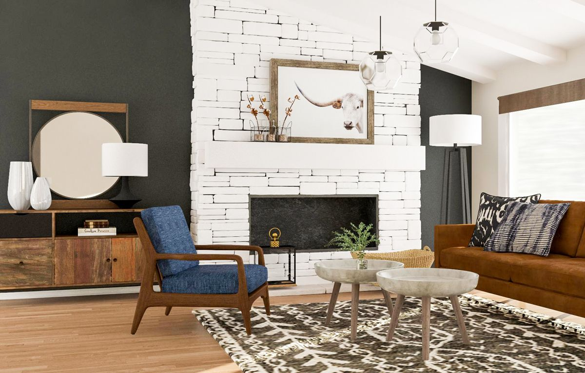 Modern Living Room Design 5 Ways To Try A Mid Century Style Mid Century Modern Living Room Contemporary Living Room Design Living Room Modern