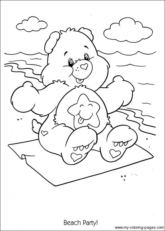 Care Bears Coloring08 Coloring