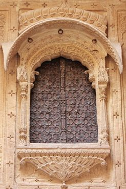 Window in Jaisalmer..