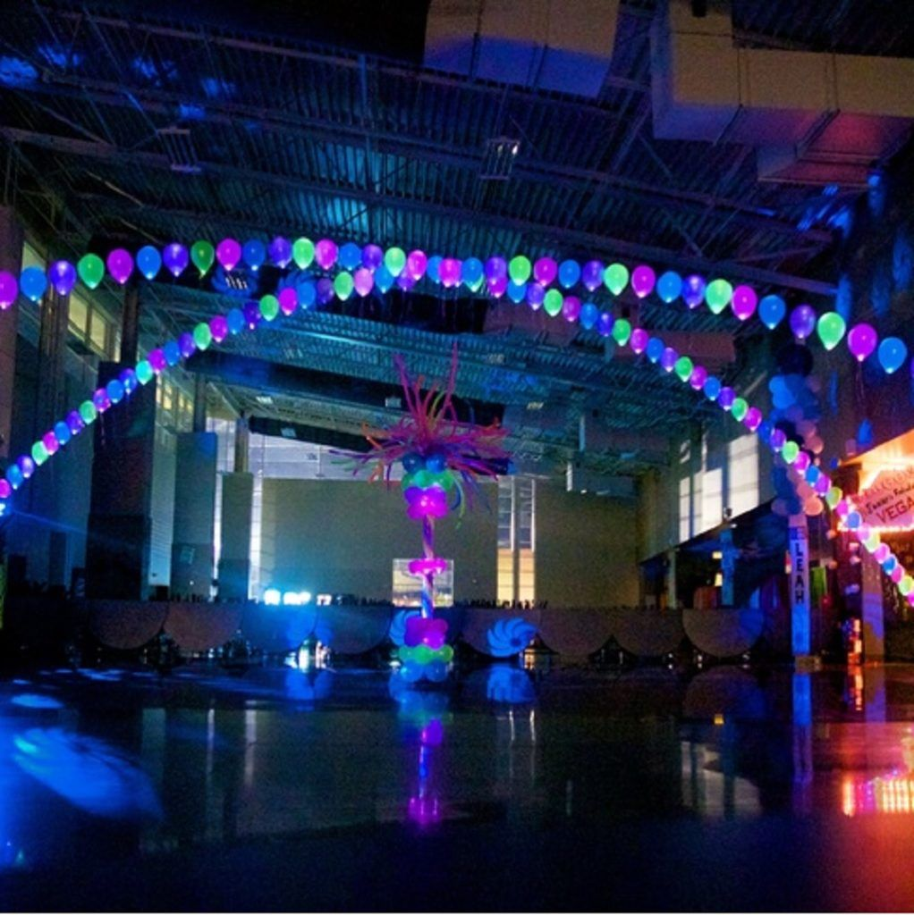 Amazing Glow In The Dark Party Decorations Ideas With Images