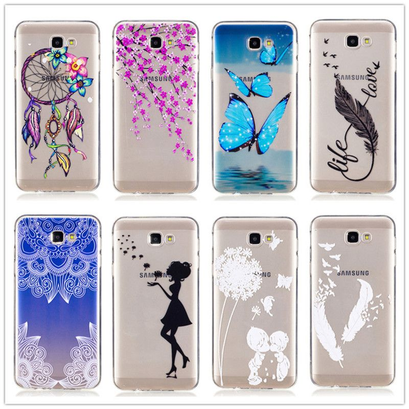 watch a075c 37040 Colorful Soft Case For Samsung Galaxy J7 Prime Mandala Silicone Back ...