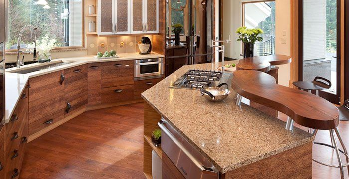 This Quartz Countertop Represents What We Want In Our Kitchen...non Porous