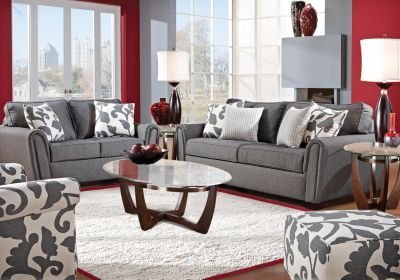 Best I Love This Gray Couch With The White And Gray Accent 400 x 300