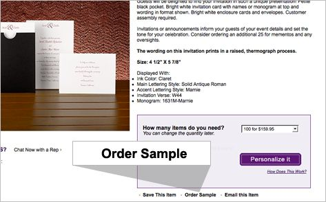 Request Free Samples Bed Bath \ Beyond Wedding Invitations - sample email invitation