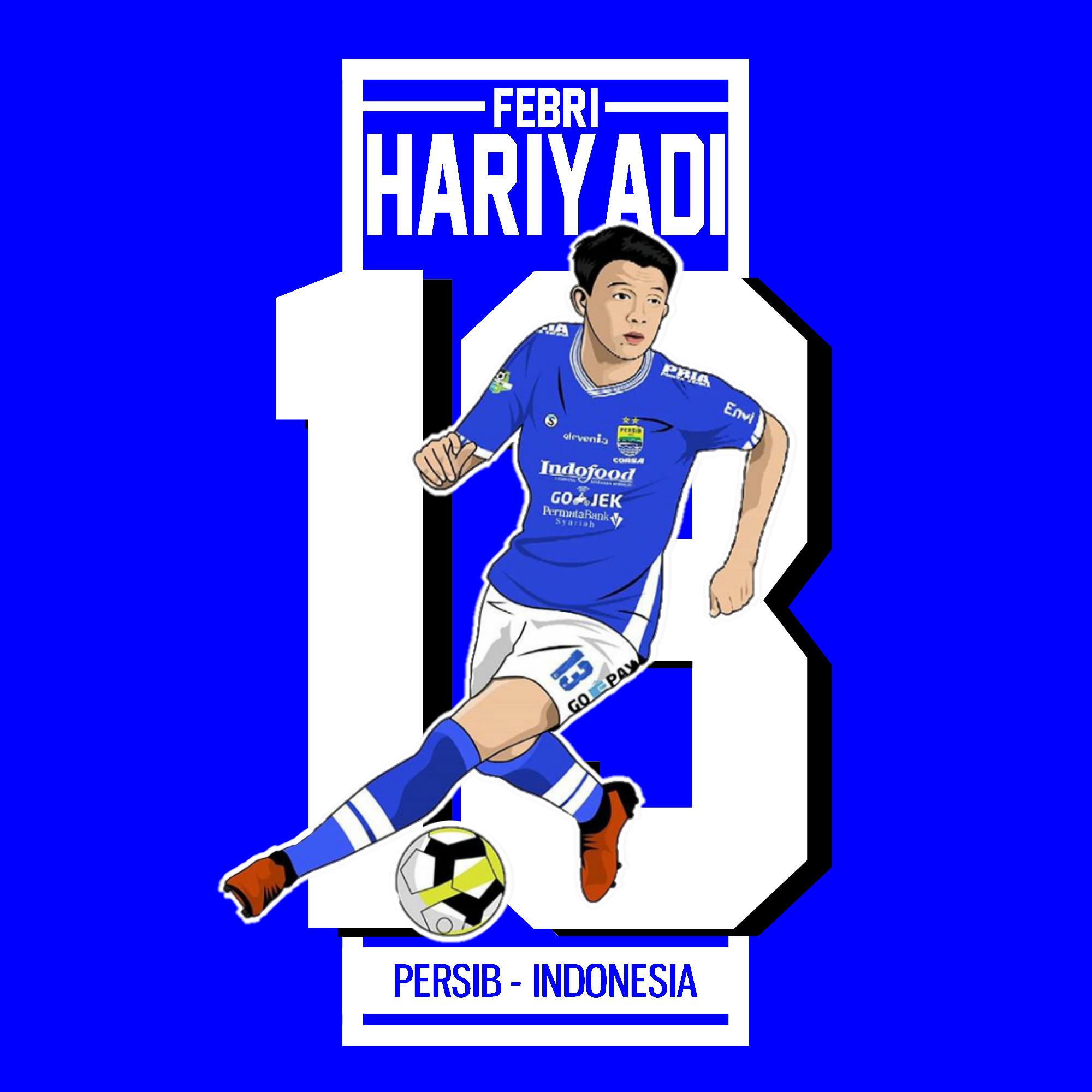 Wallpaper Febri Bow Hariyadi Blue Theme Gambar Sepak Bola Olahraga Pemain Sepak Bola
