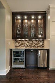 Basement Wet Bar Design small custom wet bar with wine fridge - google search … | pinteres…