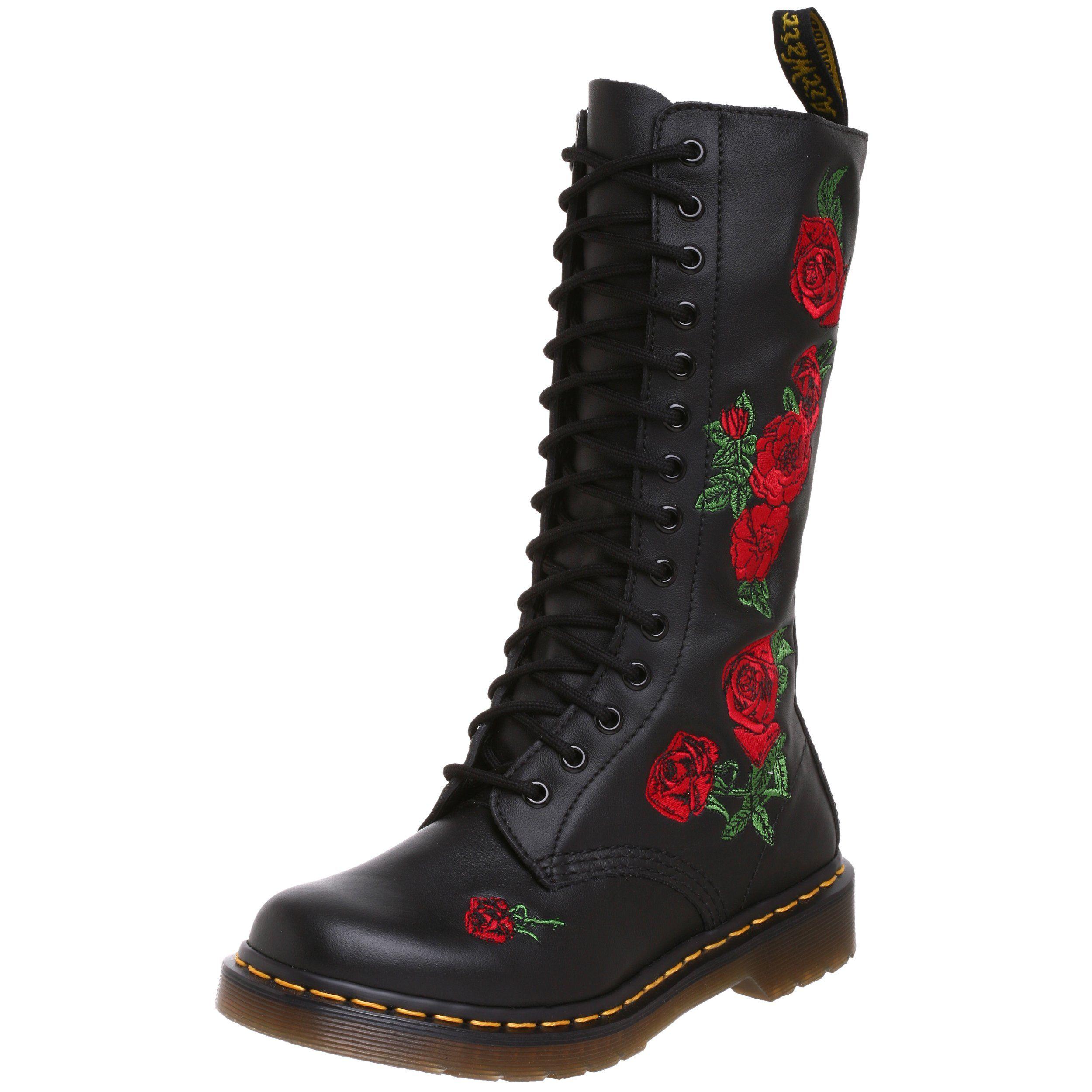 dr. martens vonda, boots femme - noir (black softy t), 39 eu (6 uk