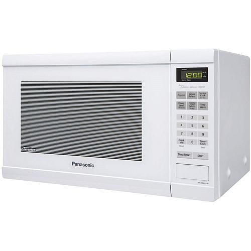 Panasonic 1 2 Cu Ft 1200w Countertop Microwave Oven With Inverter Technology And Genius Sensor Cooking White