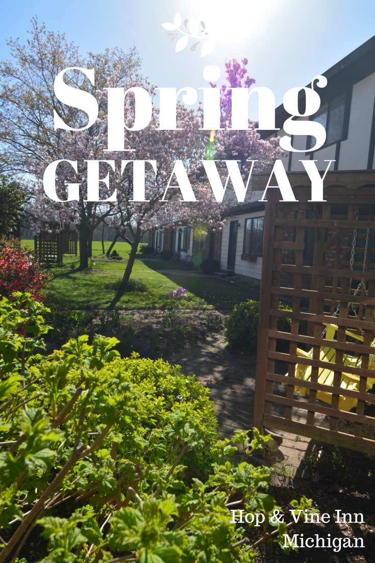 Spring getaway in Michigan! Couples & families love