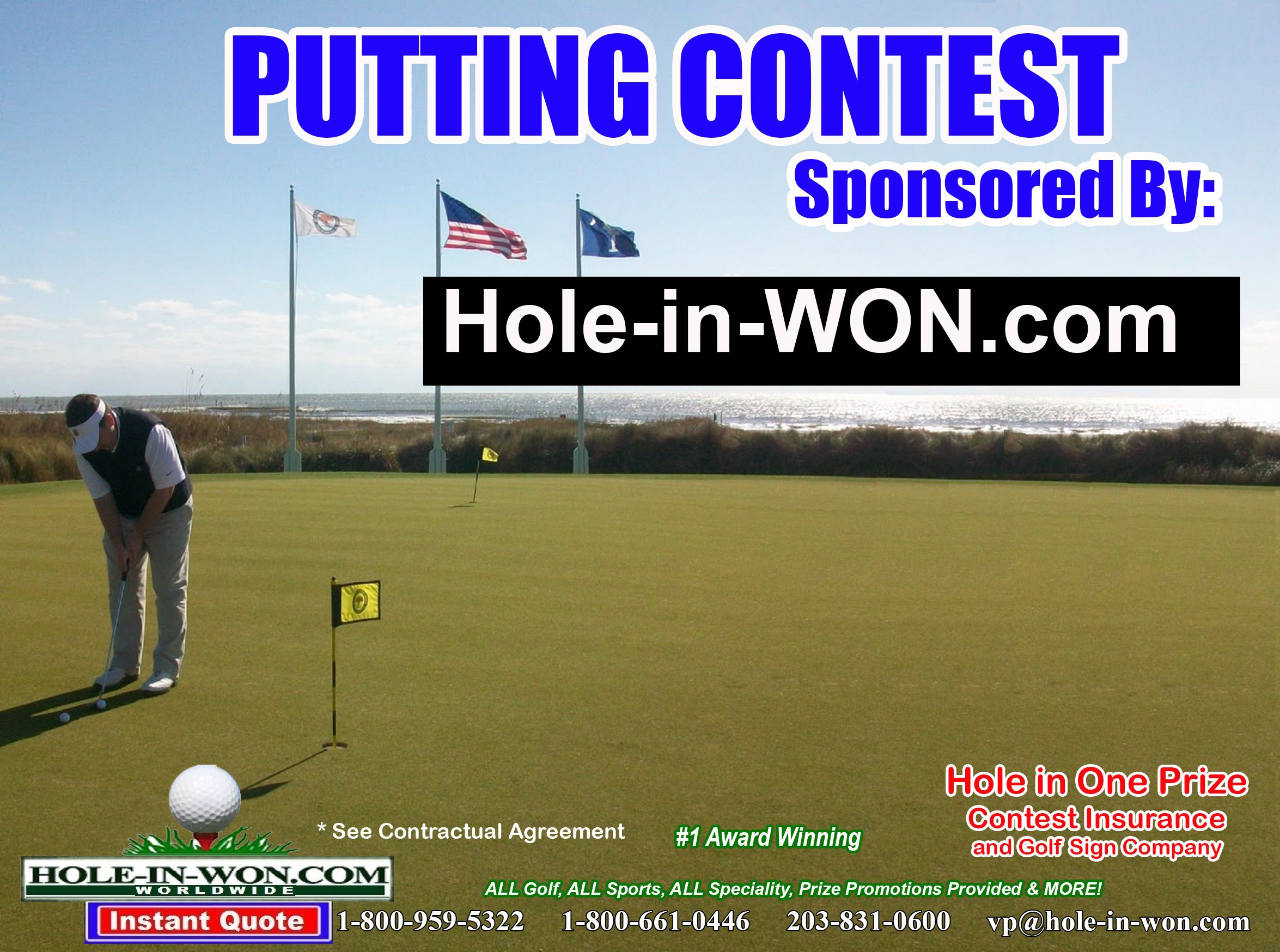 Putting Contest for your Golf Outing Long Putts Putt