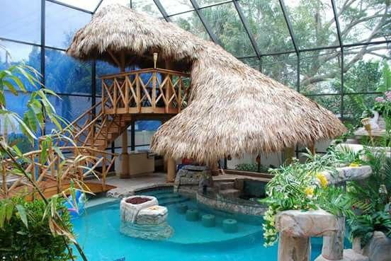 Piscina para buenas experiencias tiny house zwembaden tuin en