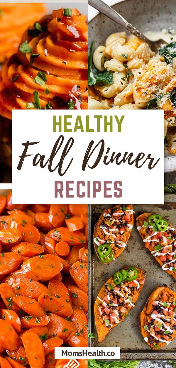 Fall Recipes - Healthy Dinner Autumn Food Ideas For Your Family images