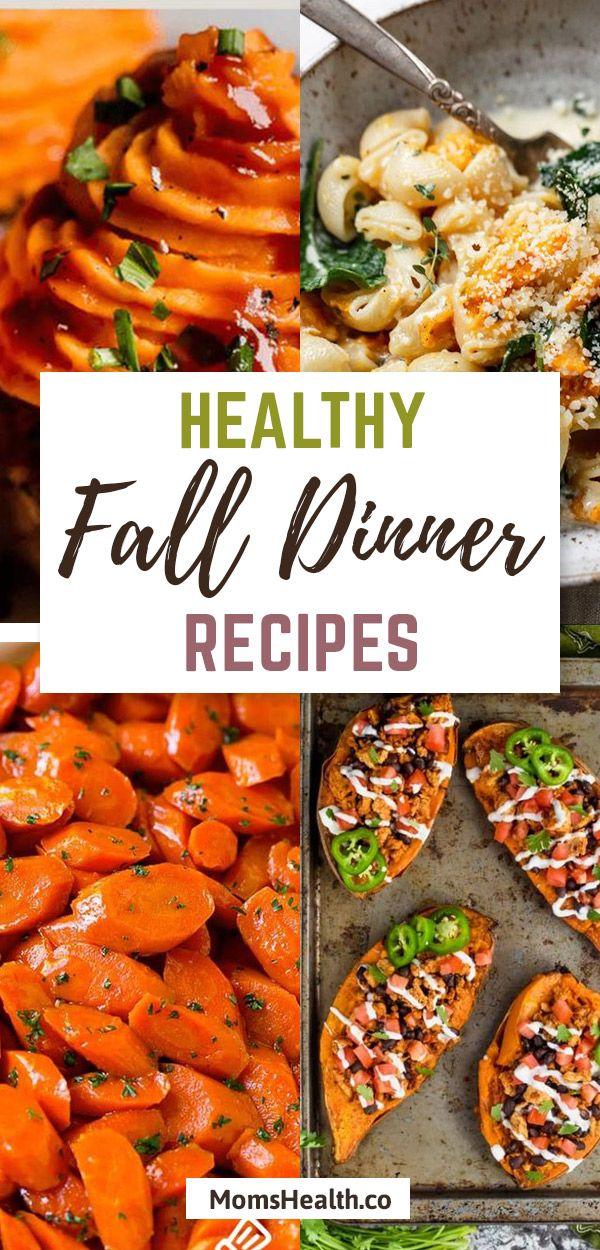 Fall Recipes - Healthy Dinner Autumn Food Ideas For Your Family #fallrecipesdinner