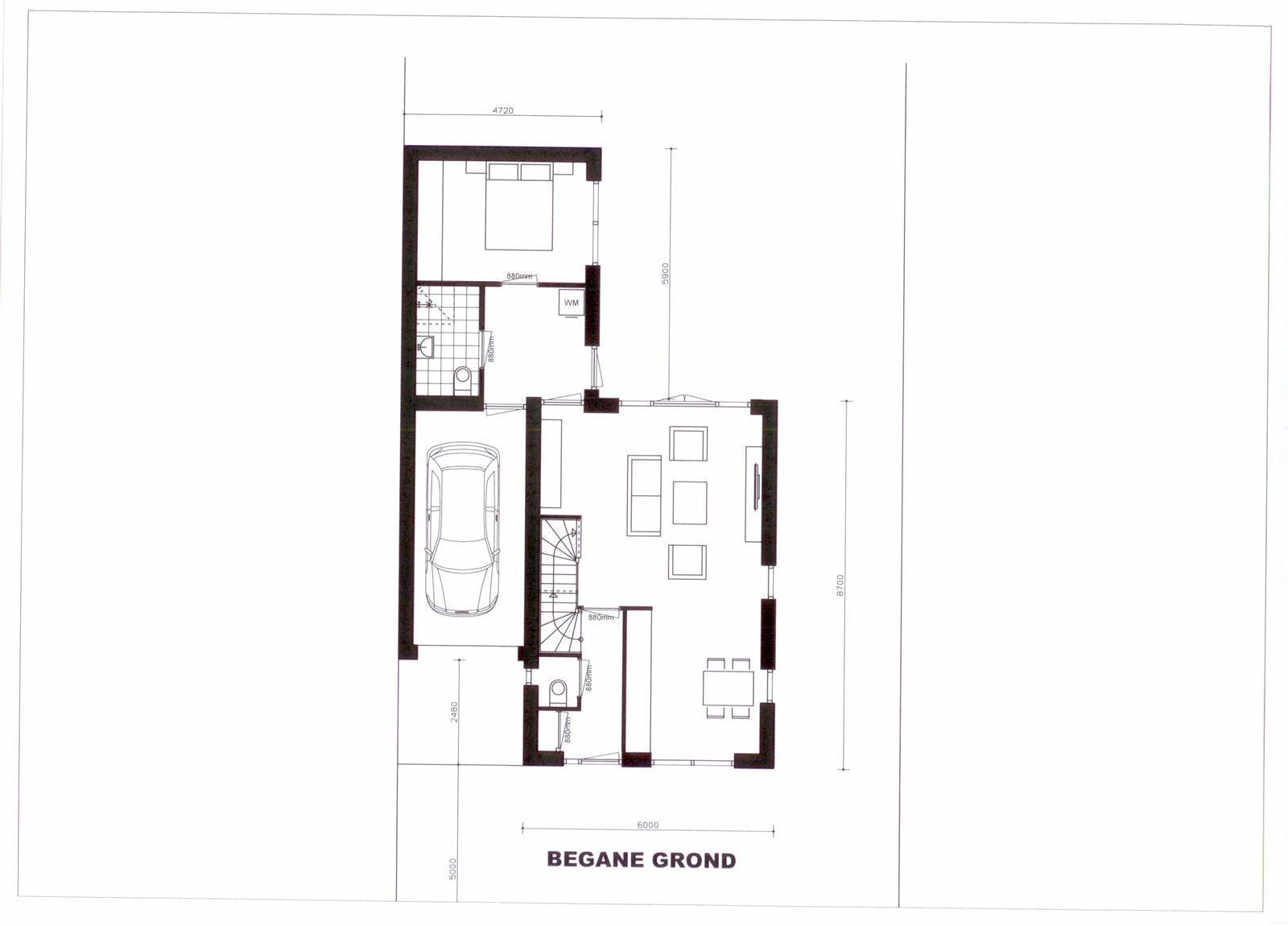 Plattegrond levensloopbestendige woning google zoeken for Plattegrond woning indeling