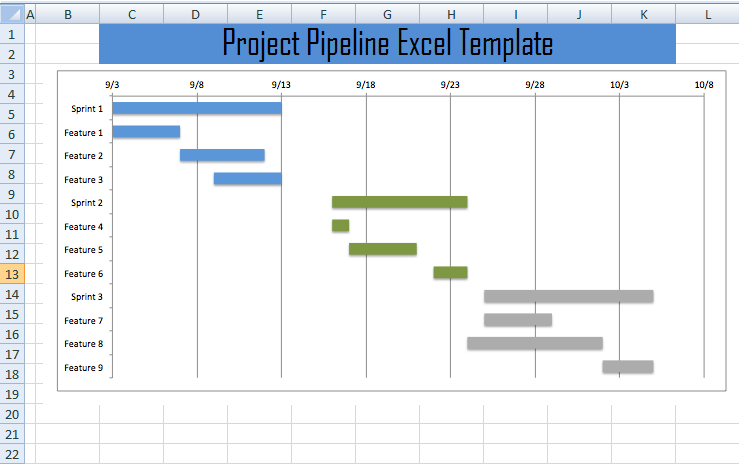 project pipeline tracker excel template project management